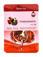 Маска с экстрактом граната FARMSTAY Pomegranate visible difference mask sheet 23 мл